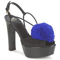 Schuhe Damen Sandalen / Sandaletten Moschino Cheap & CHIC CA1608 Ooc-Schwarz-Blau