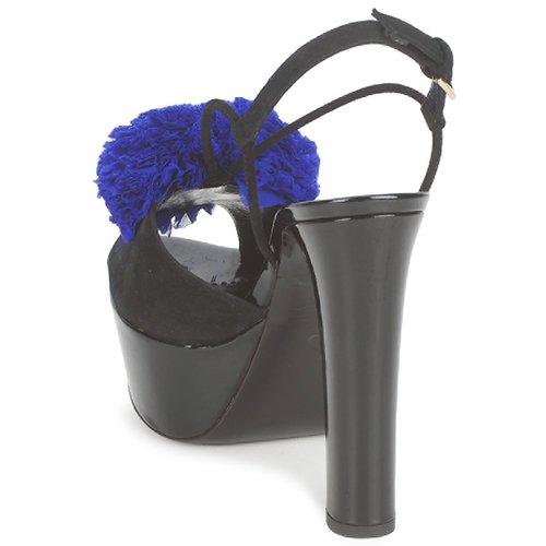Moschino Cheap & CHIC CA1608 Ooc-schwarz-blau  Damen Schuhe Sandalen / Sandaletten Damen  348 2e1239