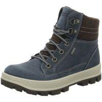 Schuhe Jungen Boots Superfit Schnuerstiefel 8-00473-94 blau