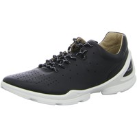 Schuhe Damen Sneaker Low Ecco Schnuerschuhe 841803-01001 schwarz