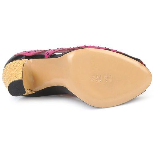 Moschino Cheap & CHIC Schuhe ALBIZIA Rosa-schwarz-grün  Schuhe CHIC Pumps Damen 356 840607