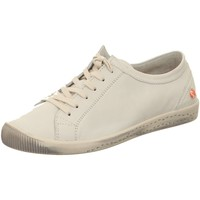 Schuhe Damen Sneaker Low Softinos Schnuerschuhe Isla 154-534 white Smooth Leather 154-534 weiß