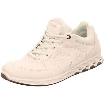 Schuhe Damen Sneaker Low Ecco Schnuerschuhe 835213-01007 weiß