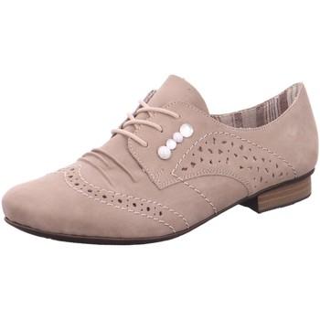 Schuhe Damen Derby-Schuhe Rieker Schnuerschuhe 51925-62 beige