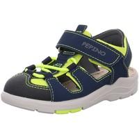 Schuhe Jungen Sandalen / Sandaletten Ricosta Sandalen Minilette Gery 10 3320100 751 blau