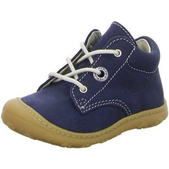 Schuhe Jungen Boots Ricosta Schnuerschuhe CORY. 1231000/170 blau