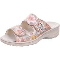 Schuhe Damen Pantoffel Fidelio Pantoletten Hedi 23411-97 bunt
