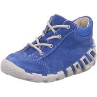 Schuhe Jungen Boots Ricosta Schnuerschuhe - 1120100-141-Dini blau