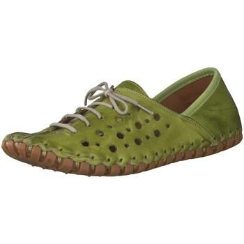 Schuhe Damen Sneaker Low Gemini Schnuerschuhe 031210-02/777 grün