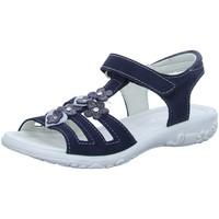 Schuhe Mädchen Sandalen / Sandaletten Ricosta Schuhe CHICA. 6422000-170-Chica blau