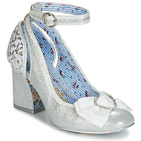 Schuhe Damen Pumps Irregular Choice DEITY Silbern