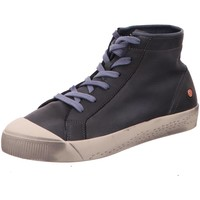 Schuhe Damen Sneaker High Softinos Stiefeletten Kip 900448-000 blau