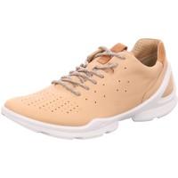 Schuhe Damen Sneaker Low Ecco Schnuerschuhe 841803-01211 rosa
