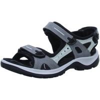 Schuhe Damen Sportliche Sandalen Ecco Sandaletten Sandalette OFFROAD 069563 02244 grau