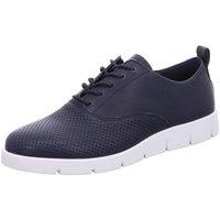 Schuhe Damen Sneaker Low Ecco Schnuerschuhe Bella 282153.01303 blau