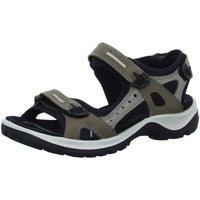 Schuhe Herren Sportliche Sandalen Ecco Sandaletten Offroad 069563/02175 beige