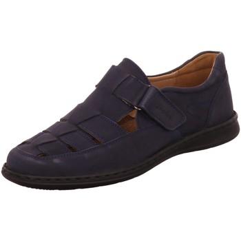 Schuhe Herren Sandalen / Sandaletten Sioux Slipper Elcino 30547 blau