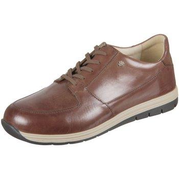 Schuhe Herren Sneaker Low Finn Comfort Schnuerschuhe Vernon 01400558405 braun