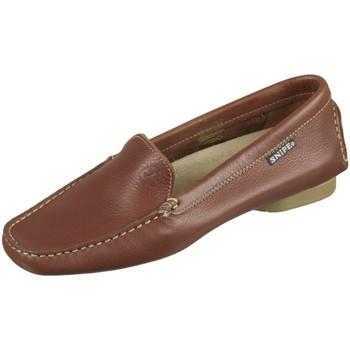 Schuhe Damen Slipper Snipe Slipper 33130e braun