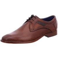 Schuhe Herren Richelieu Bugatti Schnuerschuhe Leno Crisp 311-44901-1100-6300 braun
