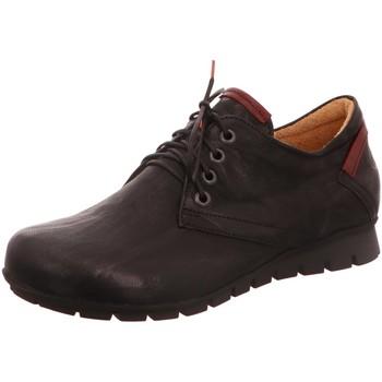 Schuhe Damen Slipper Think Schnuerschuhe MENSCHA 01 8-88070-09 schwarz
