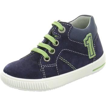 Schuhe Jungen Boots Superfit Schnuerschuhe 3-09351-80 80 blau