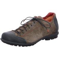 Schuhe Herren Sneaker Low Think Schnuerschuhe Kong 85653-21 grau