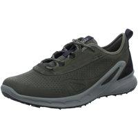 Schuhe Herren Sneaker Low Ecco Schnuerschuhe Outdoor H.Schnürer 853114/51191 grau