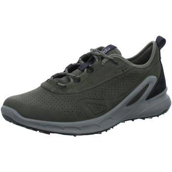 Schuhe Herren Sneaker Low Ecco Schnuerschuhe Outdoor 853114/51191 grau
