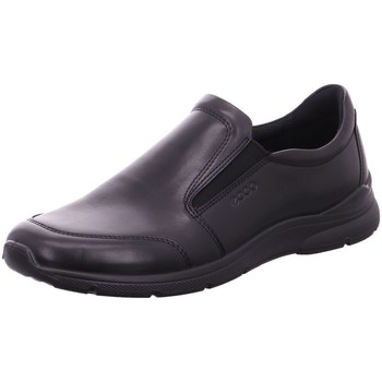 Schuhe Herren Slipper Ecco Slipper Slipper Halbschuh  IRVING 511684 01001 schwarz