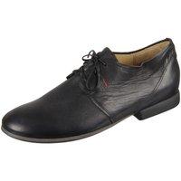 Schuhe Herren Derby-Schuhe Think Schnuerschuhe 2-82640-00 schwarz
