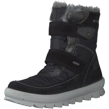 Schuhe Mädchen Schneestiefel Superfit Winterstiefel schwarz