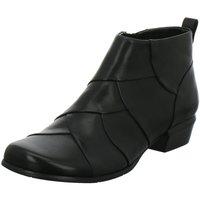 Schuhe Damen Low Boots Regarde Le Ciel Stiefeletten Melany-85 Stiefelette MELANY85/117BLACKKOMBI schwarz