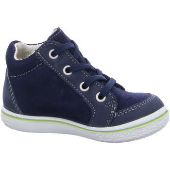 Schuhe Jungen Boots Ricosta Schnuerschuhe JESSE -Weite M ausv. 68 2520100/171 blau