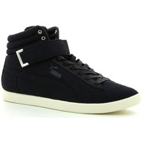 Schuhe Sneaker High Puma Modern Court Hi Canvas Schwarz