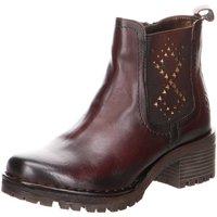 Schuhe Damen Low Boots Bugatti Stiefeletten Marcie Evo 3x505 431571344100-6400 braun