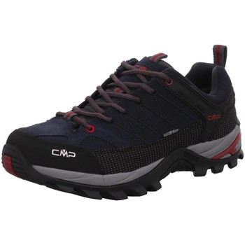 Schuhe Herren Fitness / Training Cmp Sportschuhe RIGEL LOW TREKKING SHOES WP 3Q13247-62BN-Rigel-Low blau
