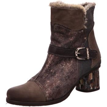 Schuhe Damen Schneestiefel Charme Stiefeletten 3236-L-1-18 grau