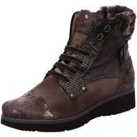 Schuhe Damen Schneestiefel Charme Stiefeletten 6047-L-1-18 grau