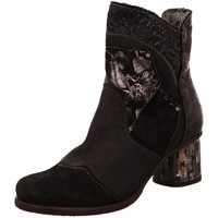 Schuhe Damen Low Boots Charme Stiefeletten 3248-L-1-18 schwarz