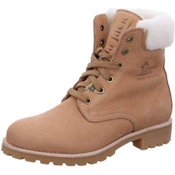 Schuhe Damen Schneestiefel Panama Jack Stiefeletten Panama 03 Igloo B34 PANAMA 03 IGLOO B34 beige