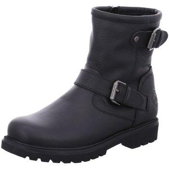 Schuhe Damen Boots Panama Jack Stiefeletten Felina Igloo B18 schwarz