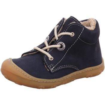 Schuhe Jungen Schneestiefel Ricosta Schnuerschuhe CORANY 1221200-182 blau