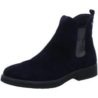 Schuhe Damen Boots Legero Stiefeletten 5-00684-83 blau