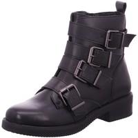 Schuhe Damen Boots Diverse Stiefeletten Schlupf/RV-St.Sp-Bod 1013097 schwarz
