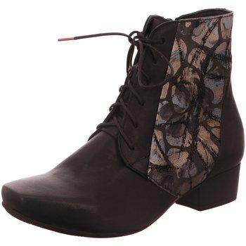 Schuhe Damen Low Boots Think Stiefeletten KARENA 10 3-83189-09 schwarz