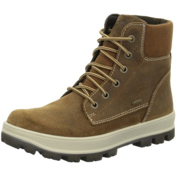 Schuhe Jungen Boots Superfit Schnuerstiefel 8-00474-30 30 braun