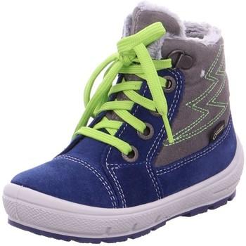 Schuhe Jungen Schneestiefel Superfit High 09306-81 blau