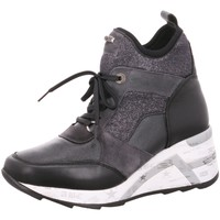 Schuhe Damen Sneaker High Cetti C1151 SWEET LAME NEGRO schwarz