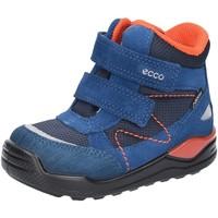 Schuhe Jungen Boots Ecco Klettstiefel urban Mini 754721-50139 blau